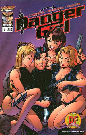 Danger Girl #3 Dynamic Forces European Covers