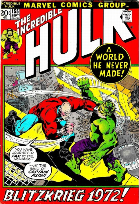 The Incredible Hulk #155