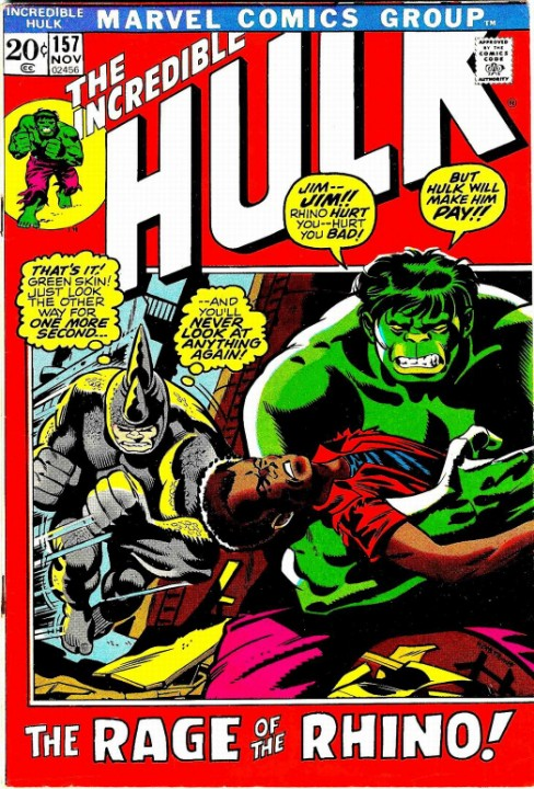 The Incredible Hulk #157
