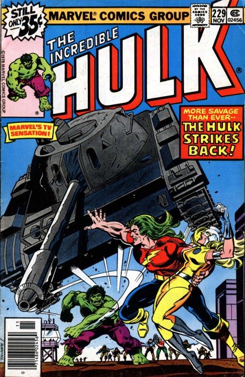 The Incredible Hulk #229