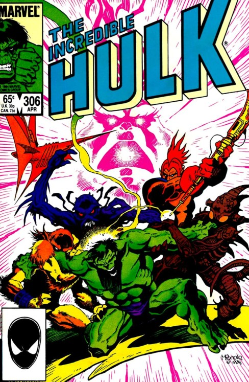 The Incredible Hulk #306