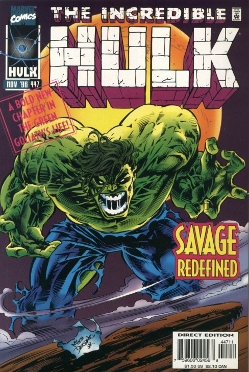 The Incredible Hulk #447