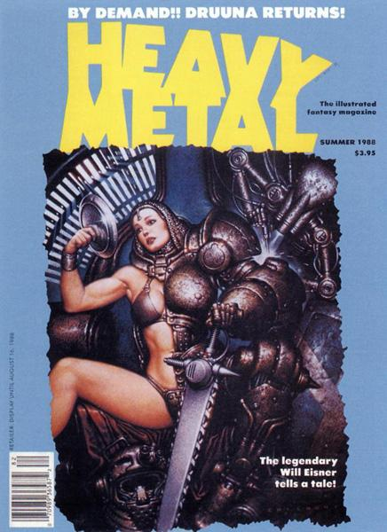 HeavyMetal V12-02 Summer-1988