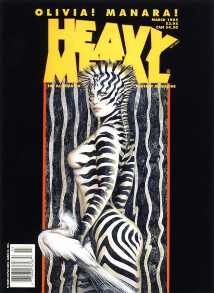 HeavyMetal V19-01 March-1995