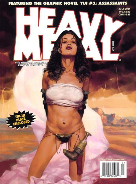 HeavyMetal V28-03 July-2004