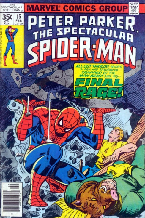 Peter Parker the Spectacular Spiderman #15