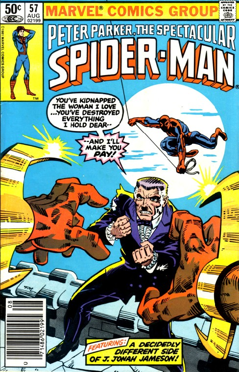 Peter Parker the Spectacular Spiderman #57