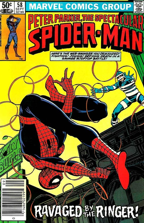 Peter Parker the Spectacular Spiderman #58