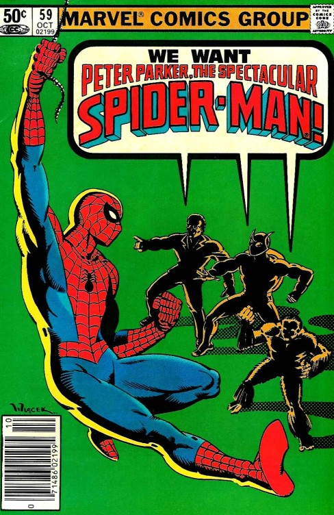 Peter Parker the Spectacular Spiderman #59