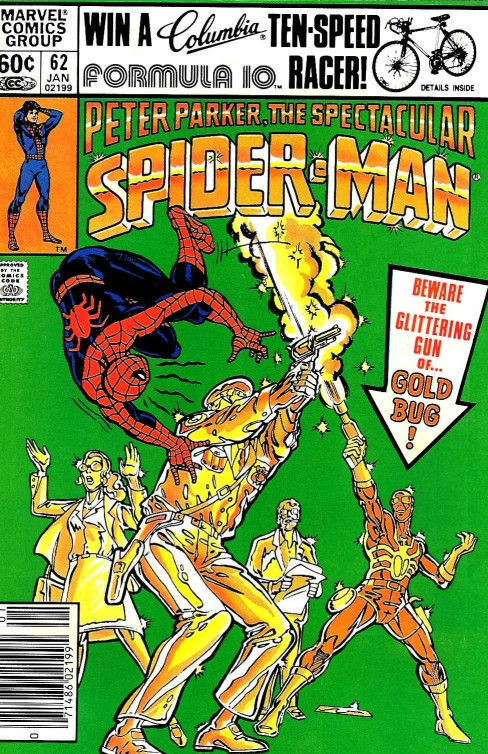 Peter Parker the Spectacular Spiderman #62