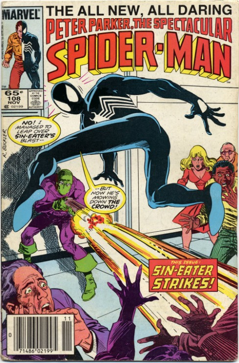 Peter Parker the Spectacular Spiderman #108