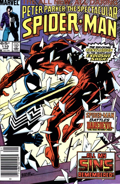 Peter Parker the Spectacular Spiderman #110