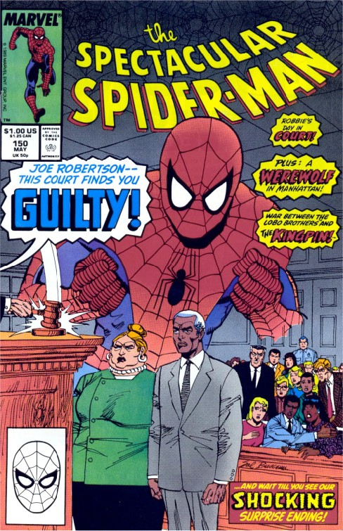 Peter Parker the Spectacular Spiderman #150