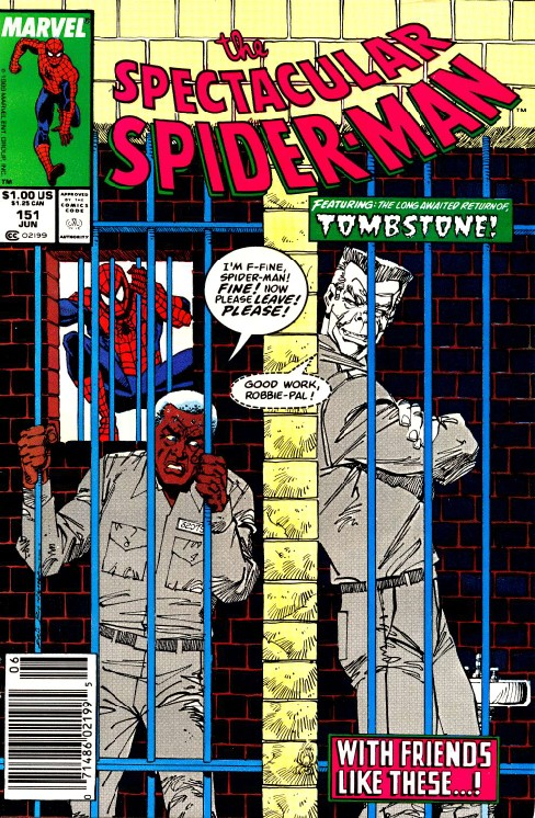 Peter Parker the Spectacular Spiderman #151