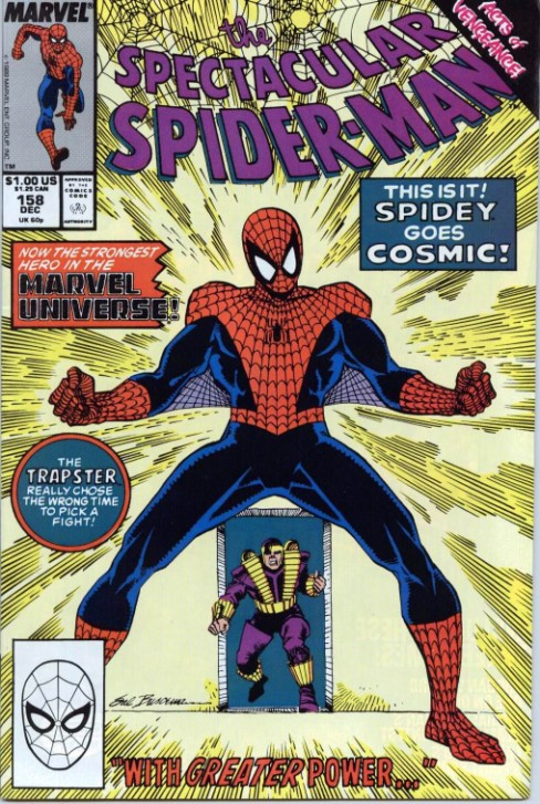 Peter Parker the Spectacular Spiderman #158