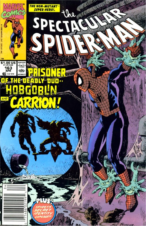 Peter Parker the Spectacular Spiderman #163