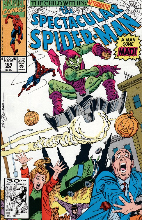 Peter Parker the Spectacular Spiderman #184