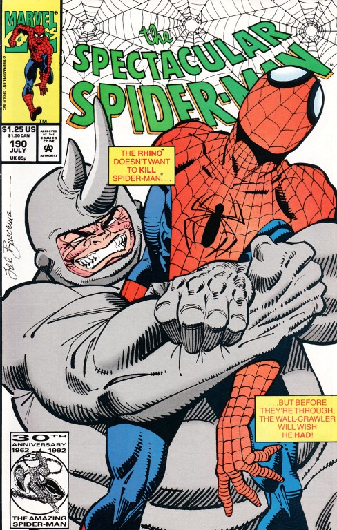 Peter Parker The Spectacular Spiderman 190 Spectacular