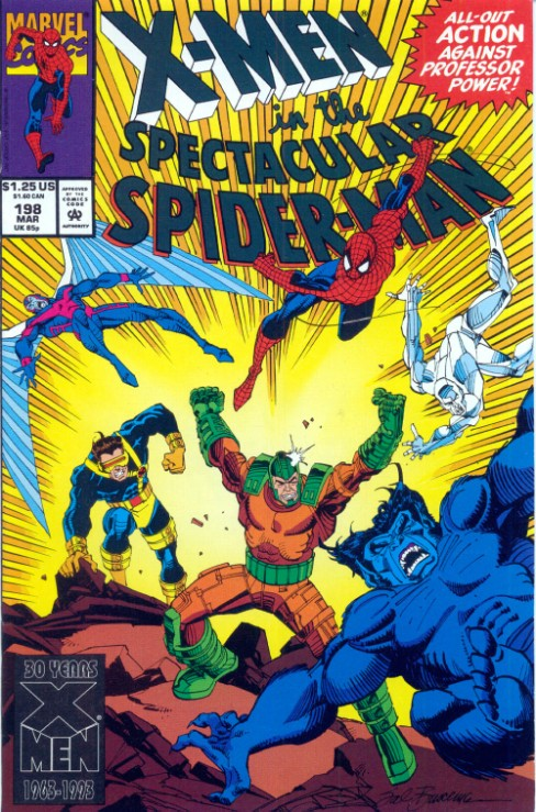 Peter Parker the Spectacular Spiderman #198