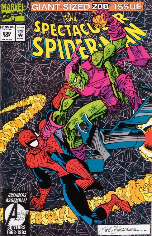 Peter Parker the Spectacular Spiderman #200