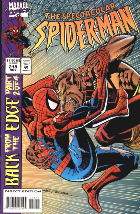 Peter Parker the Spectacular Spiderman #218