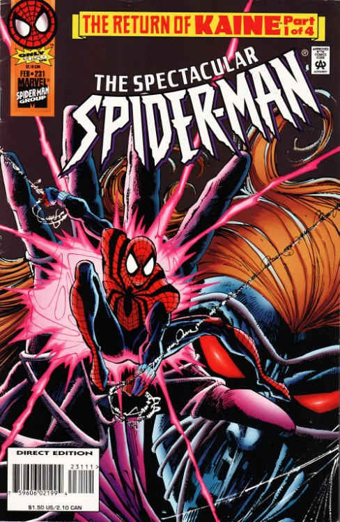 Peter Parker the Spectacular Spiderman #231