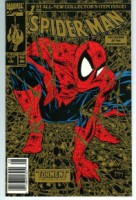 Spider-Man #1 Gold UPC