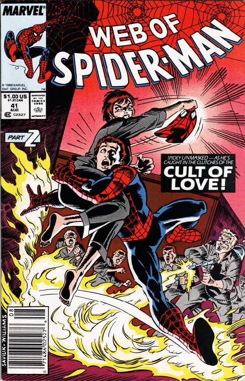 Web of Spider-man #41
