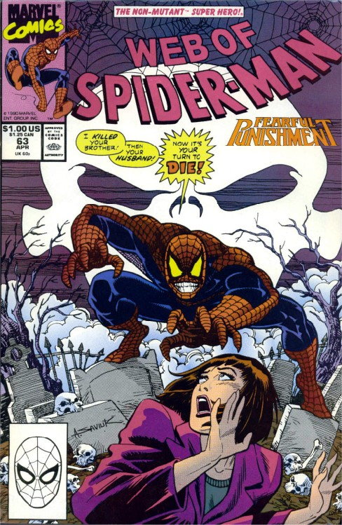 Web of Spider-man #63